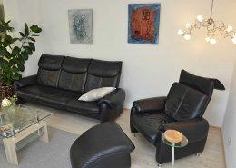 Sofa-Sitzgruppe mit Sessel